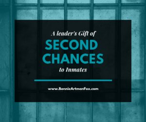 Blog - A leader's Gift of Second Chances to Inmates